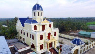 Chiêm ngưỡng lâu đài thông minh nhất tại Tiền Giang