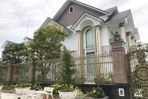 Biệt thự sang trọng của anh Năm tại Quận 12 Hồ Chí Minh