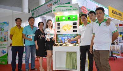 Đại lý TDL Việt mang giải pháp Nhà thông minh đến Vietbuild Cần Thơ 2020.