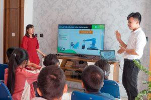 50 học sinh Hà Nội háo hức tìm hiểu về Cuộc cách mạng 4.0