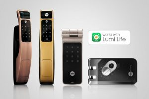 LUMI Smart Home Has Upgraded Security Features With New Module For Yale Locks