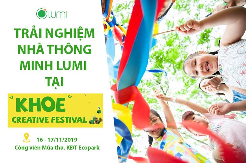 sự kiện Khoe Creative 2019 của Lumi