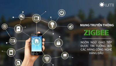 Mạng ZigBee trong nhà thông minh không dây