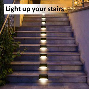 Đèn led cảm ứng bước đi bậc cầu thang