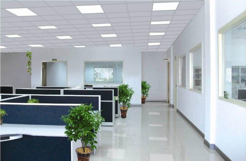 Đèn LED Panel thông minh trong văn phòng
