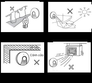 Hạn chế của cảm biến bật đèn