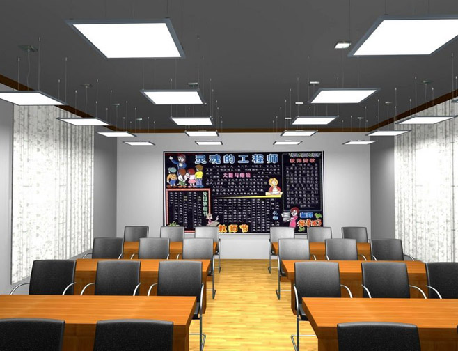 Đèn LED Panel thông minh trong trường học