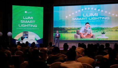 Chính thức ra mắt tại 5 thành phố lớn, Lumi Smart Lighting hứa hẹn trở thành điểm sáng trong thị trường Chiếu sáng năm 2021