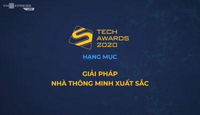 """Lumi Việt Nam đoạt giải thưởng """"Nhà thông minh xuất sắc"""" tại Tech Awards 2020"""