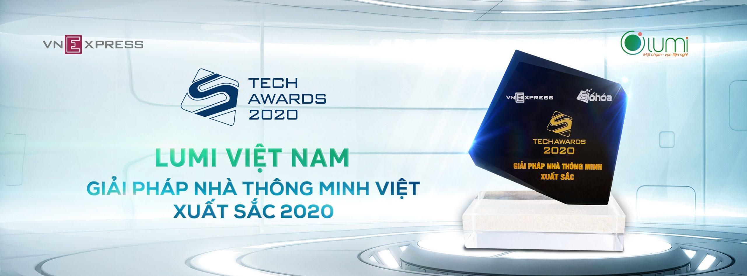 Lumi - Nhà thông minh xuất sắc Tech Award