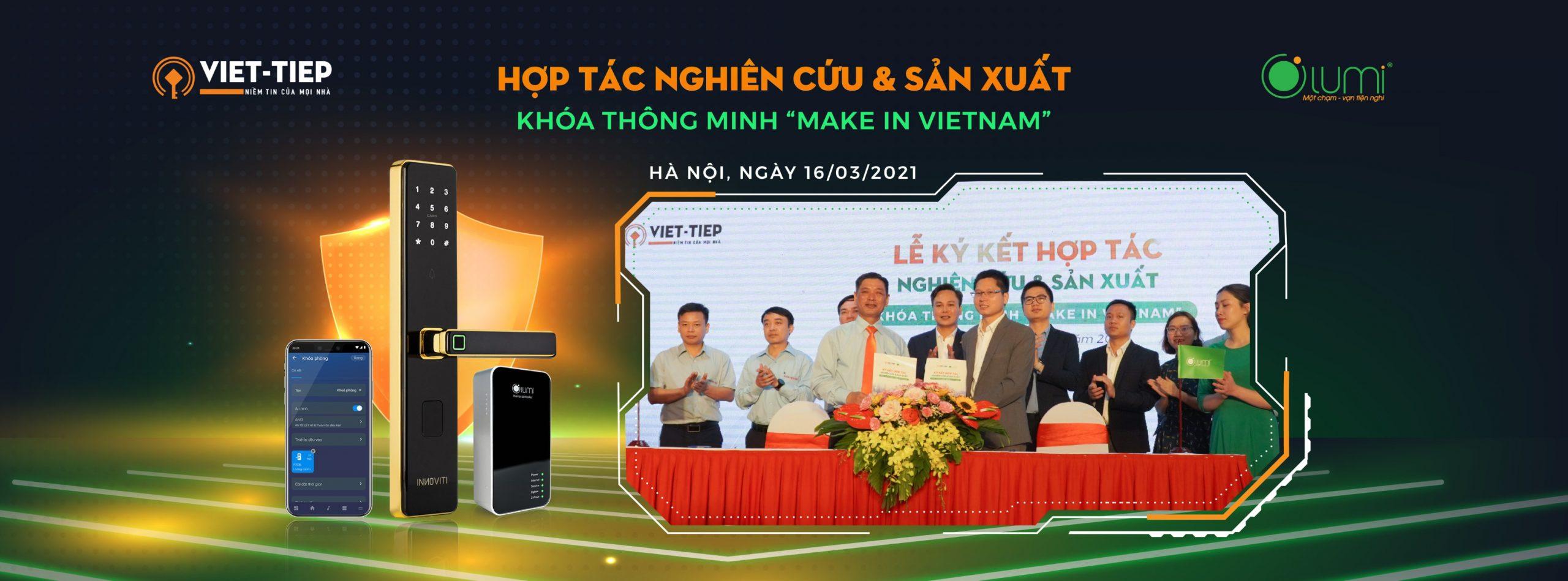 Cover website Lumi hợp tác Việt Tiệp khóa thông minh