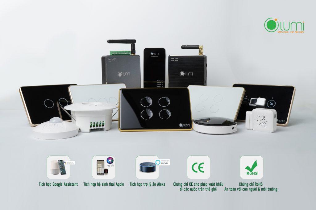 Bộ thiết bị điện thông minh Lumi