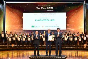 """Lumi vinh dự đón nhận """"Giải thưởng Sao Khuê 2021"""" cho giải pháp An ninh ứng dụng trí tuệ nhân tạo AI Controller"""