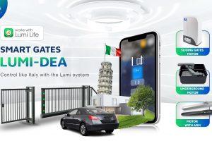 Lumi Vietnam cooperates with DEA (Italy) to develop the LUMI Smart Gate – DEA integrated into the Lumi ecosystem