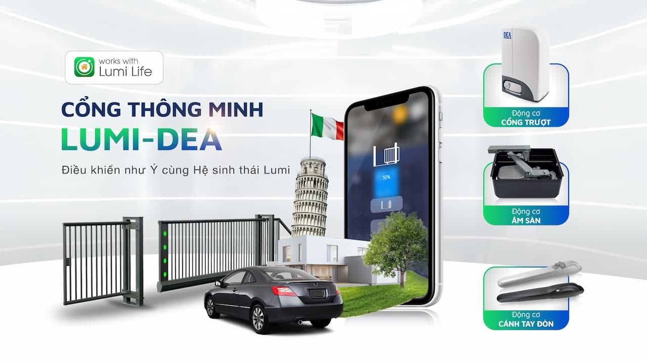 Cổng tự động cover website Mobile