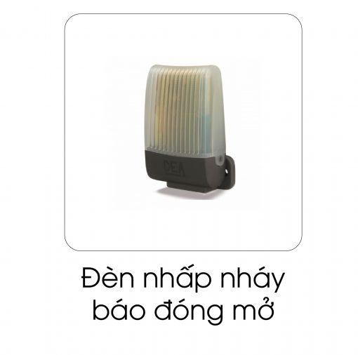 Đèn nhấp nháy báo đóng cửa
