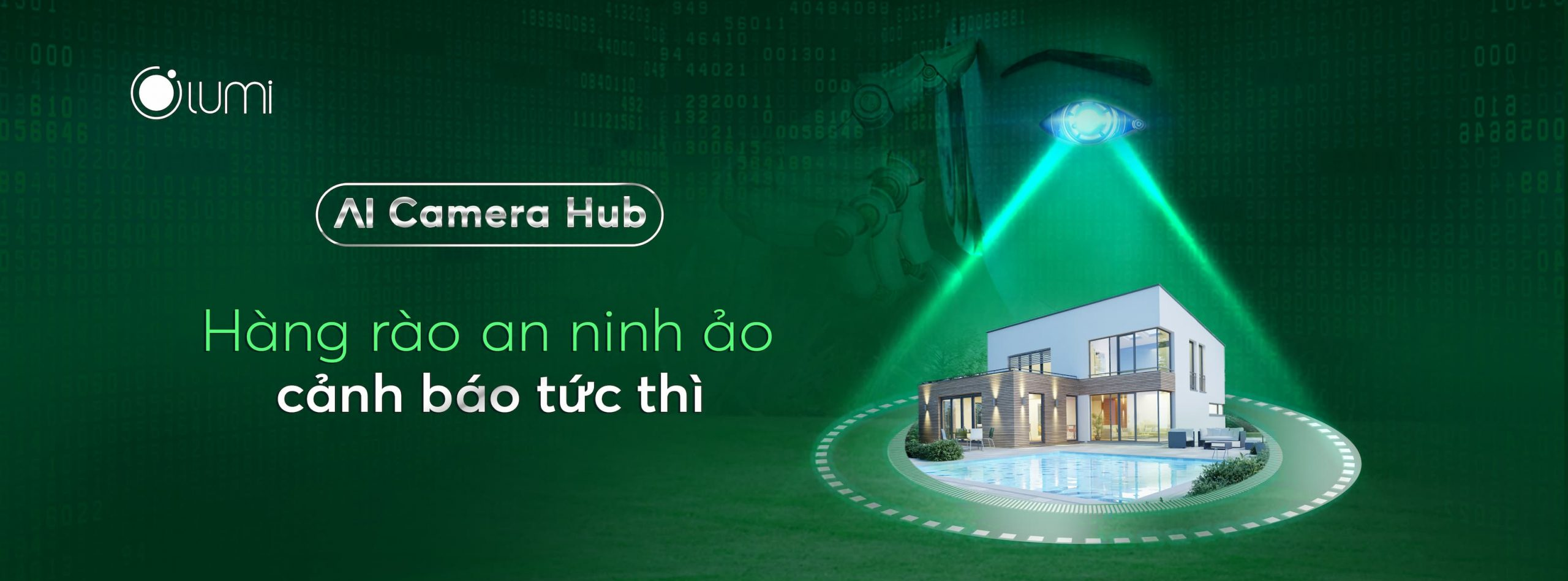 Ra mắt sản phẩm AI Camera Hub cover website