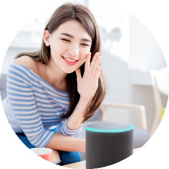 Smart home điều khiển bằng giọng nói@2x